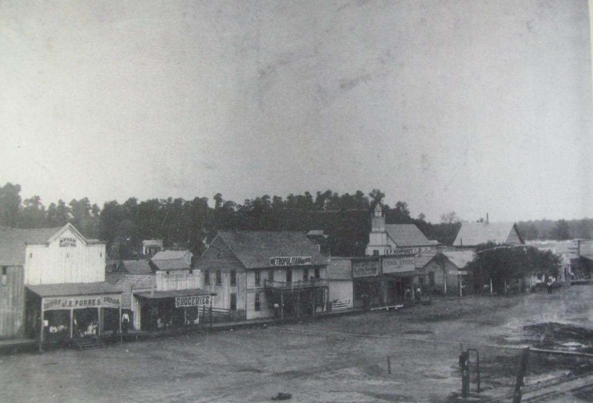 Old Town Poteau, 1896