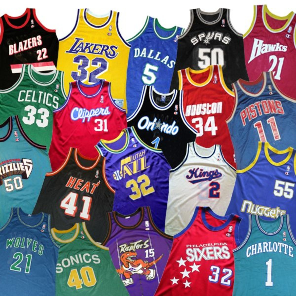 5 Best Selling NBA Jerseys of All Time