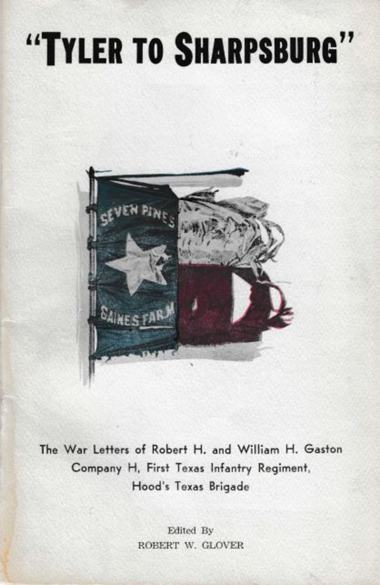 The Water Letters of Robert and William Gaston, Edited by Robert .W. Glover, (Waco:Texian Press), 1960