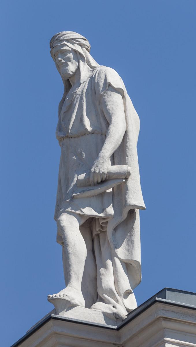 Al Masudi Statue