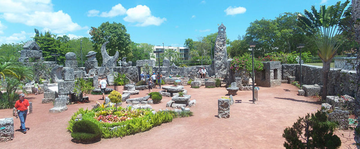 Inside the Coral Castle