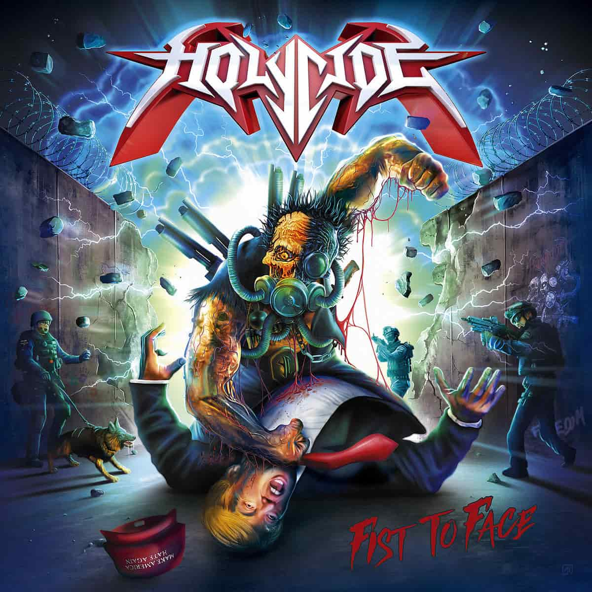 Review of the Album Fist to Face by Spanish Thrash Metal Band Holycide
