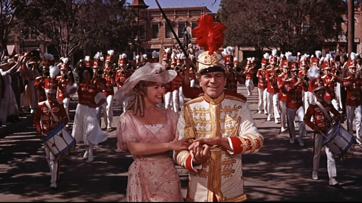 Shirley Jones and Robert Preston