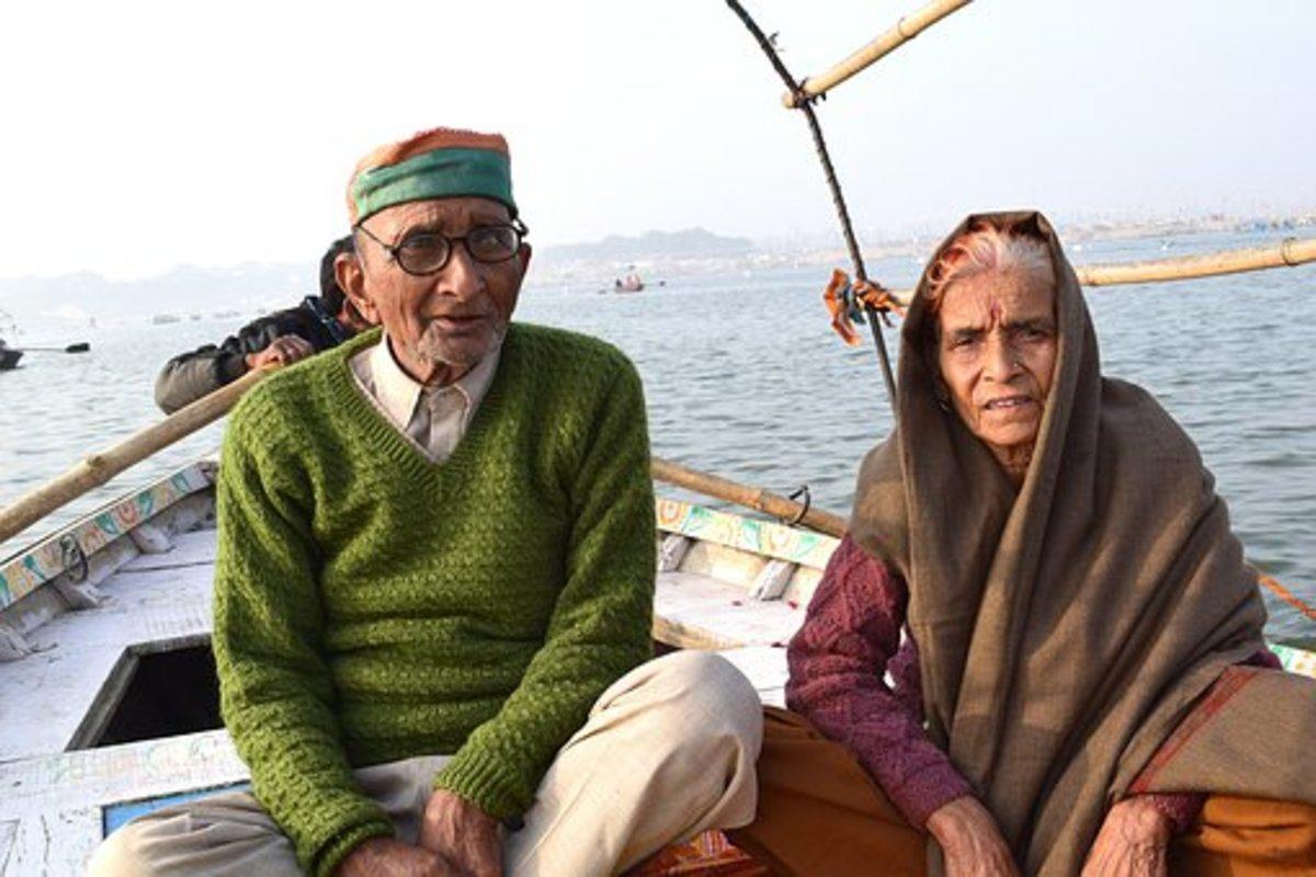 An Elderly Couple