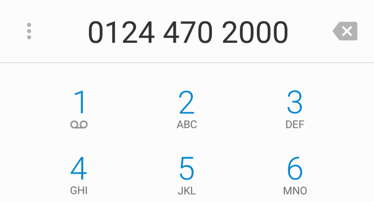 Phone number dialed on your smartphone automatically