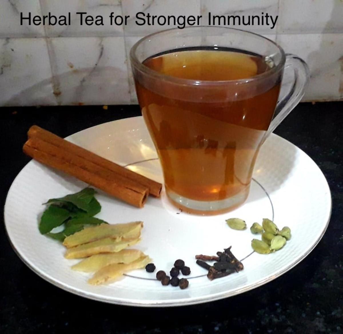 Herbal Tea for Stronger Immunity