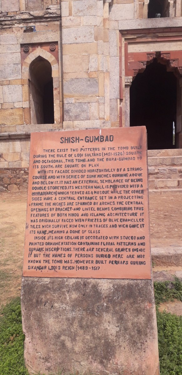 The Shish Gumbad of the Lodhi Garden-The heritage