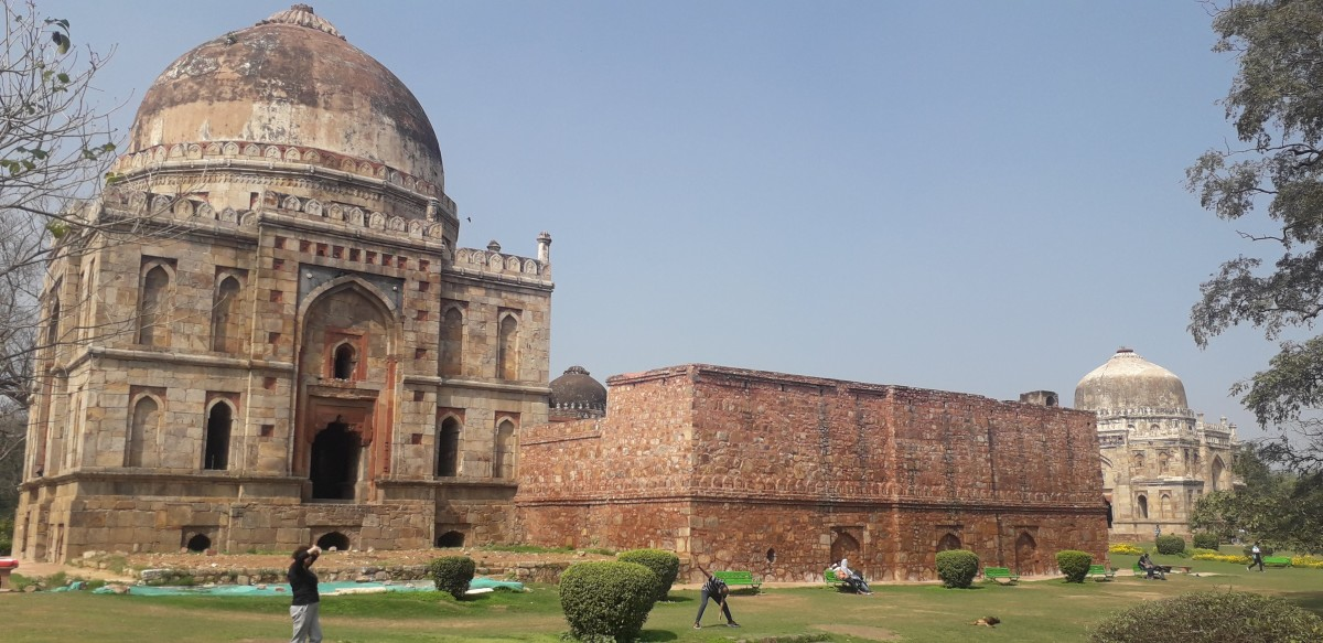 The heritage: The Tombs of Lodhi Garden