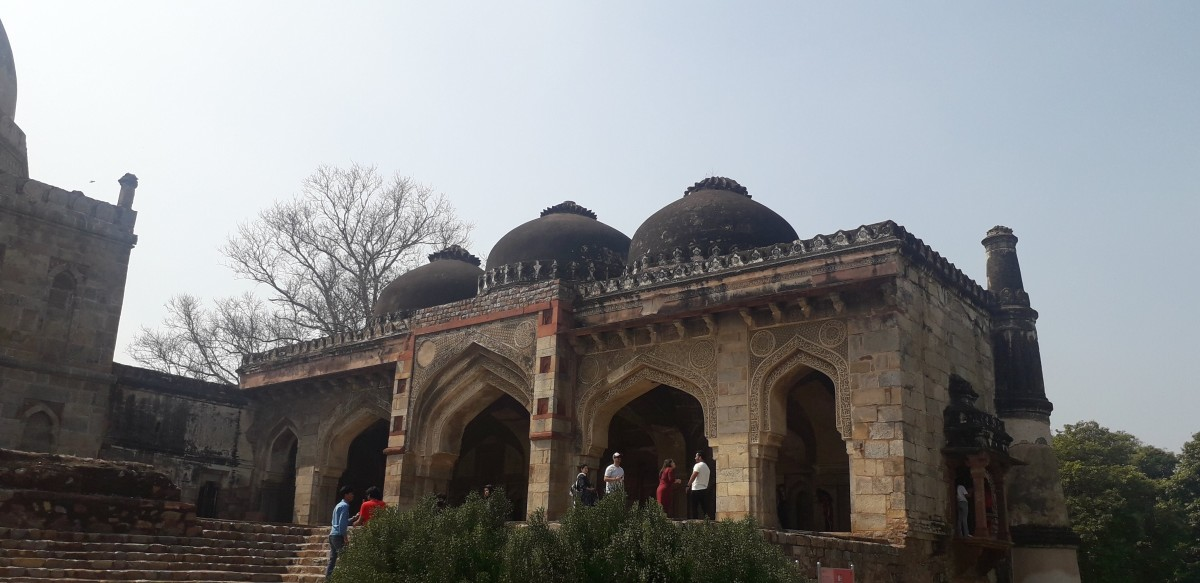 The Heritage monuments of the Lodhi Garden