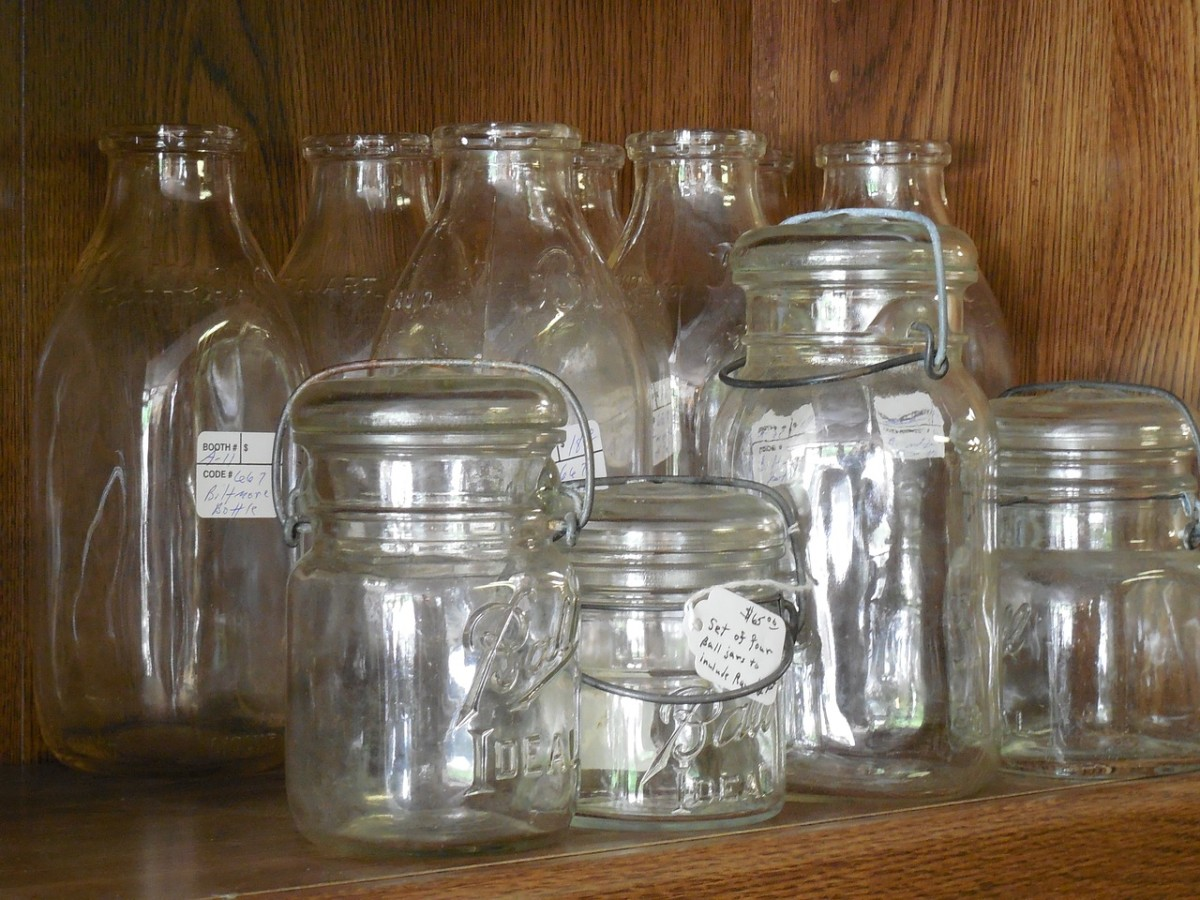 These types of canning jars should not be used for dry canning. Dry canning requires a jar that seals with a ring and lid.