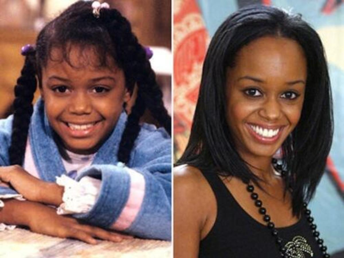 Jamie Foxworth then and now