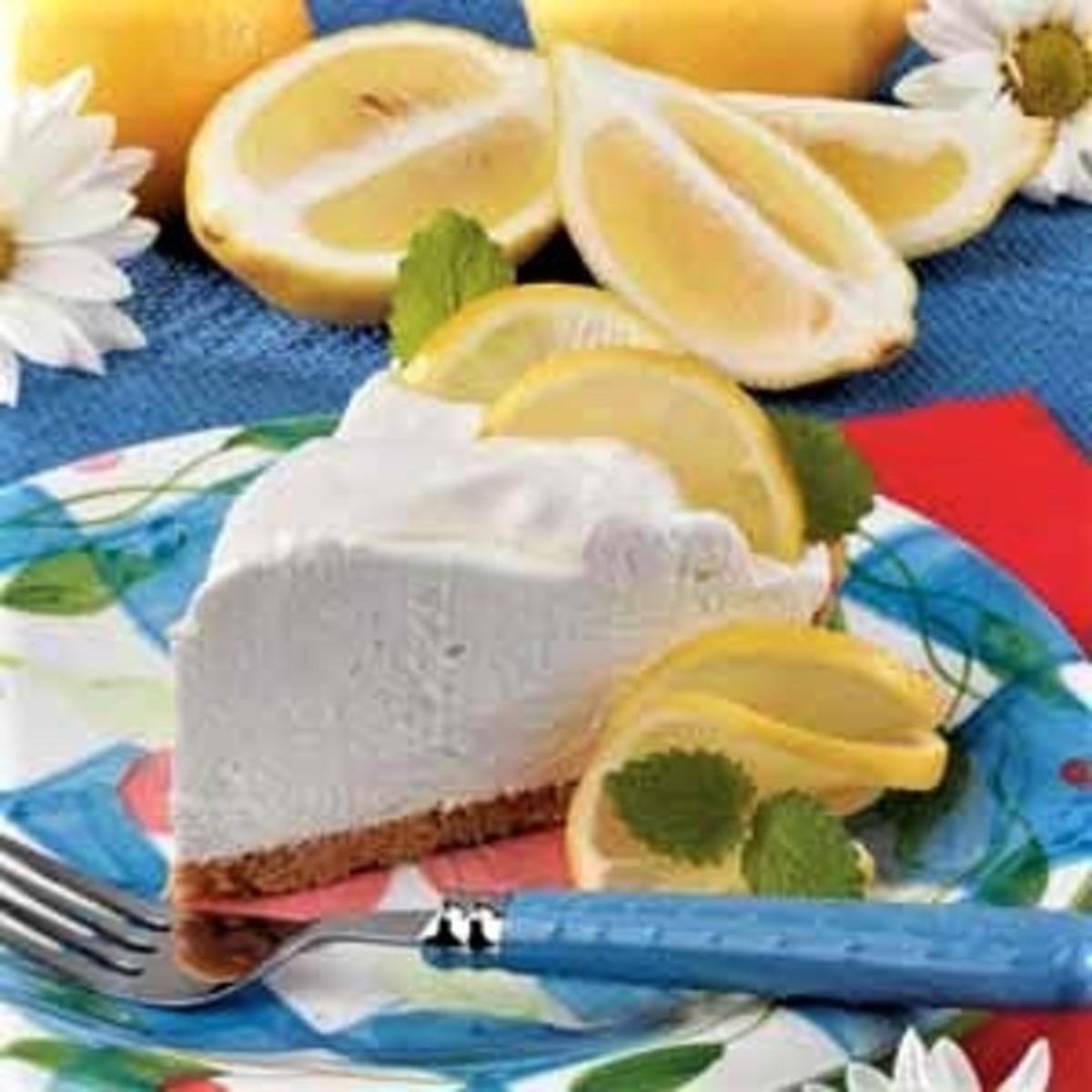 yogurt cream pie