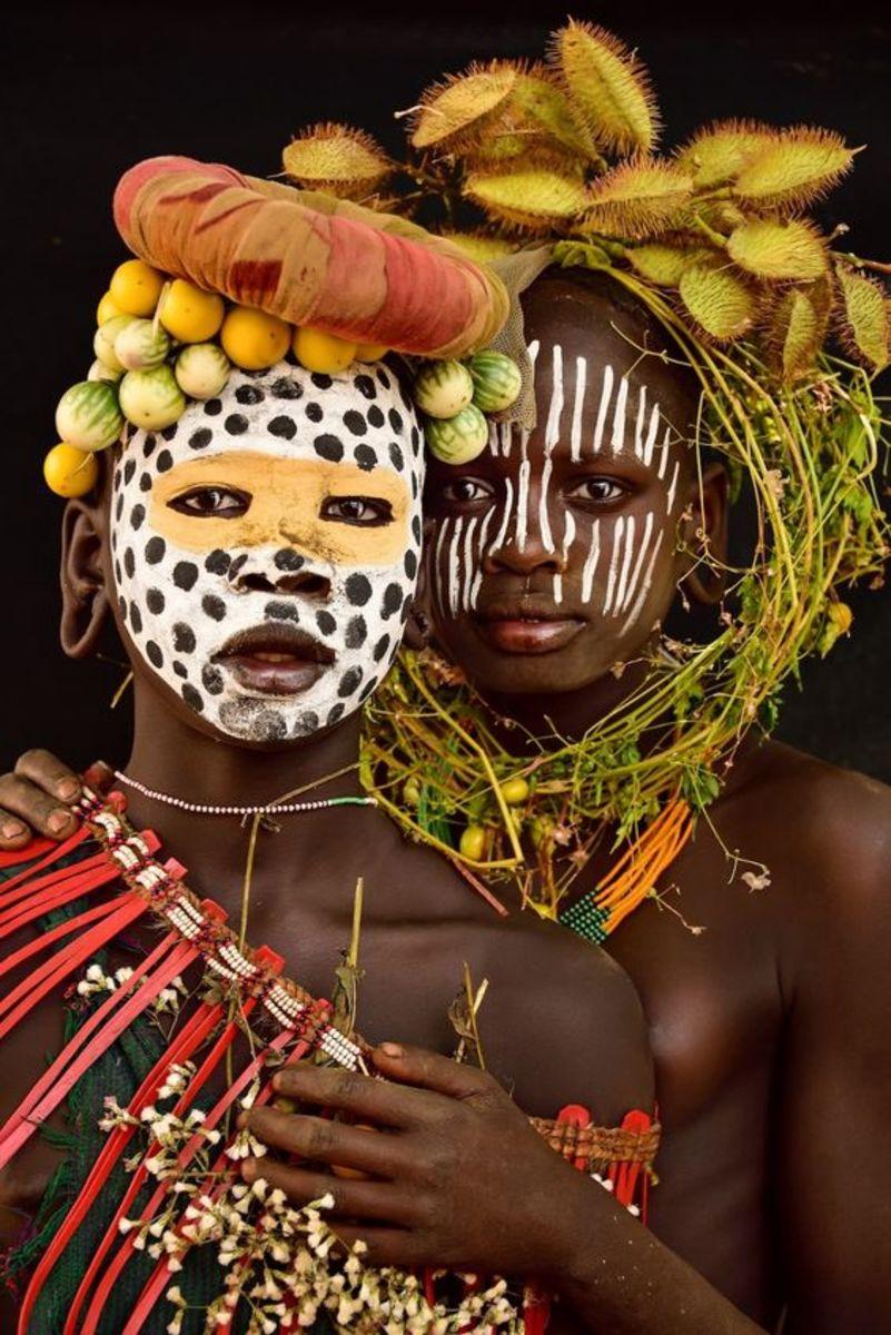 Ethiopia Indigenous Tribe
