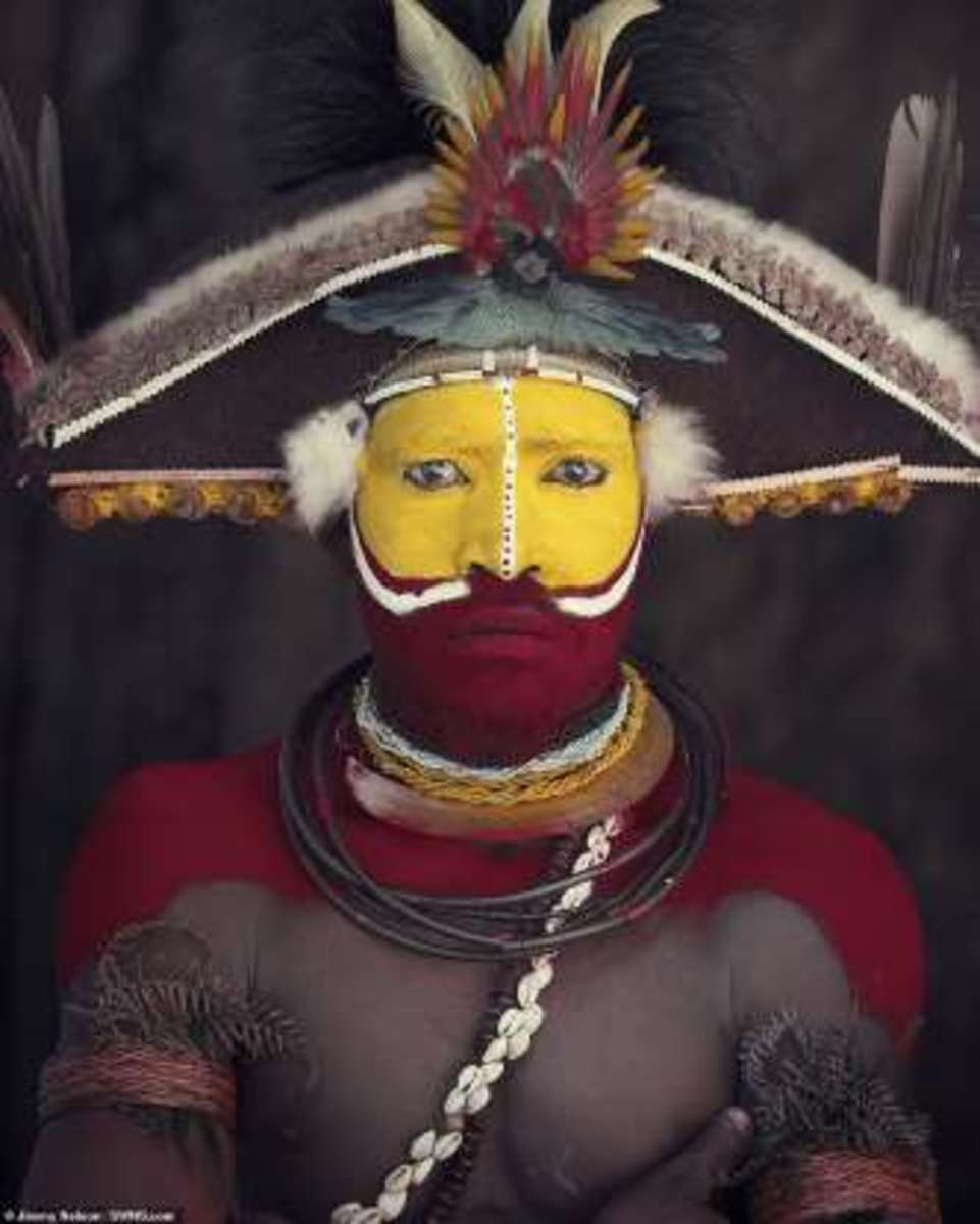 Indigenous, New Guinea Tribe