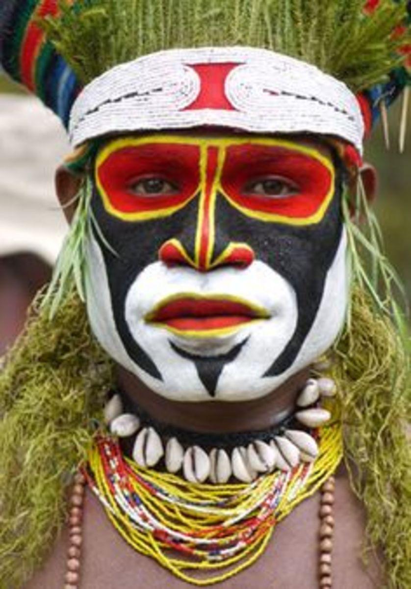 Papua, New Guinea Indigenous TribeLogo