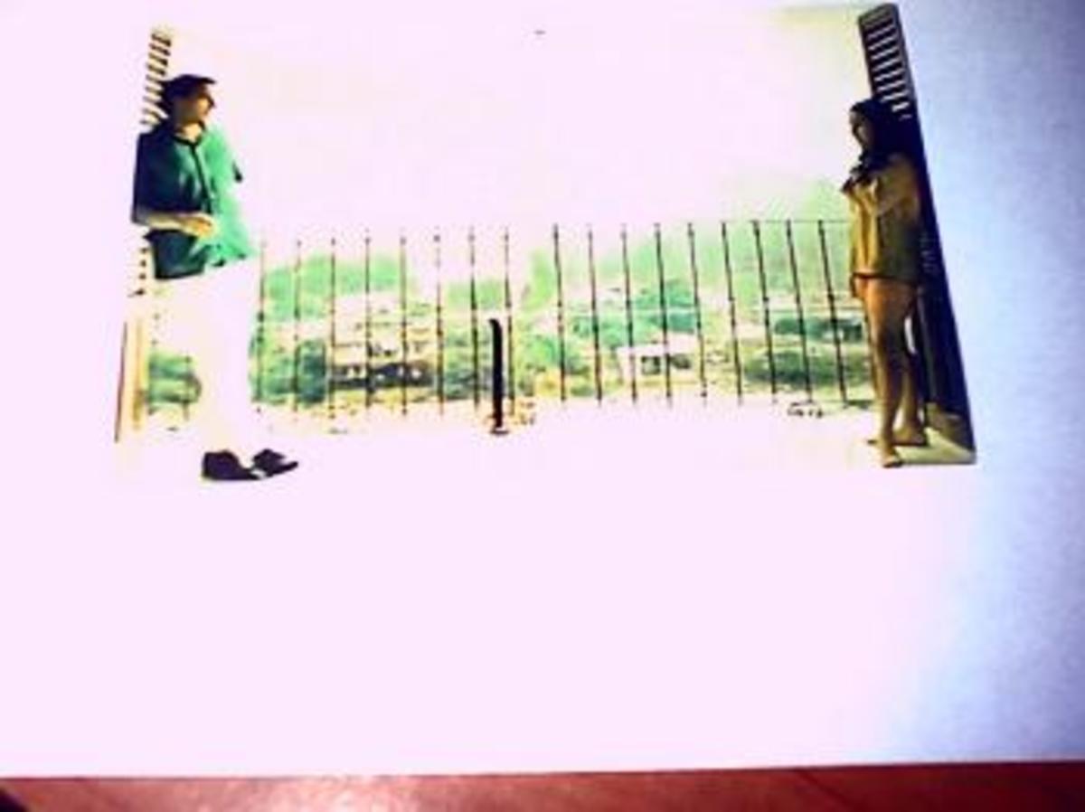 Liz And Dick Casa Kimberley balcony, overlooking Gringo Gulch, Puerto Vallarta