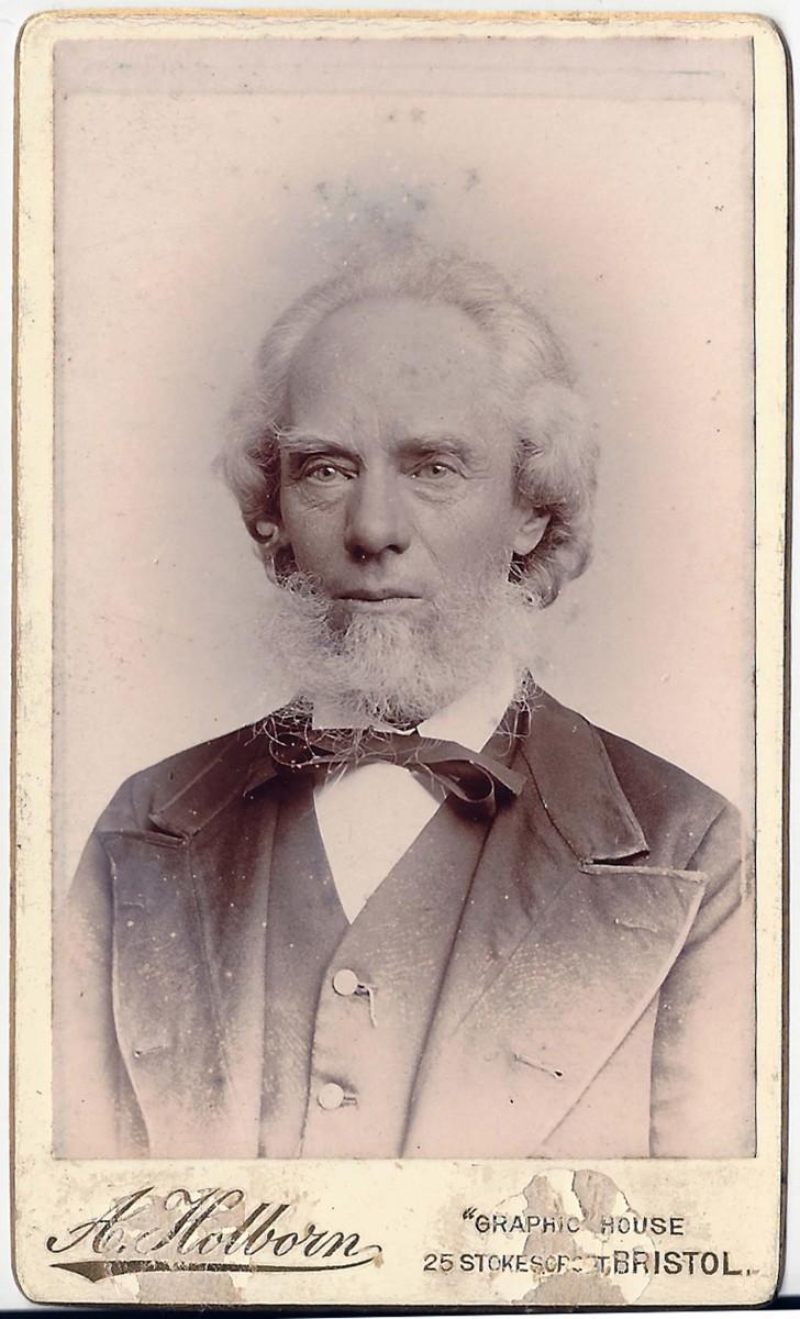 1899, George Burgess aged 70