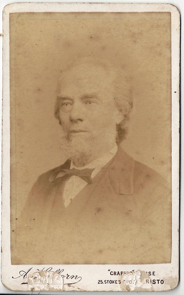 1889, George Burgess aged 60