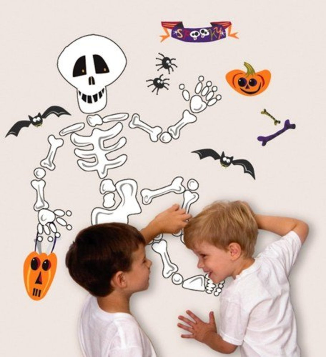 Skeleton Wall Decal