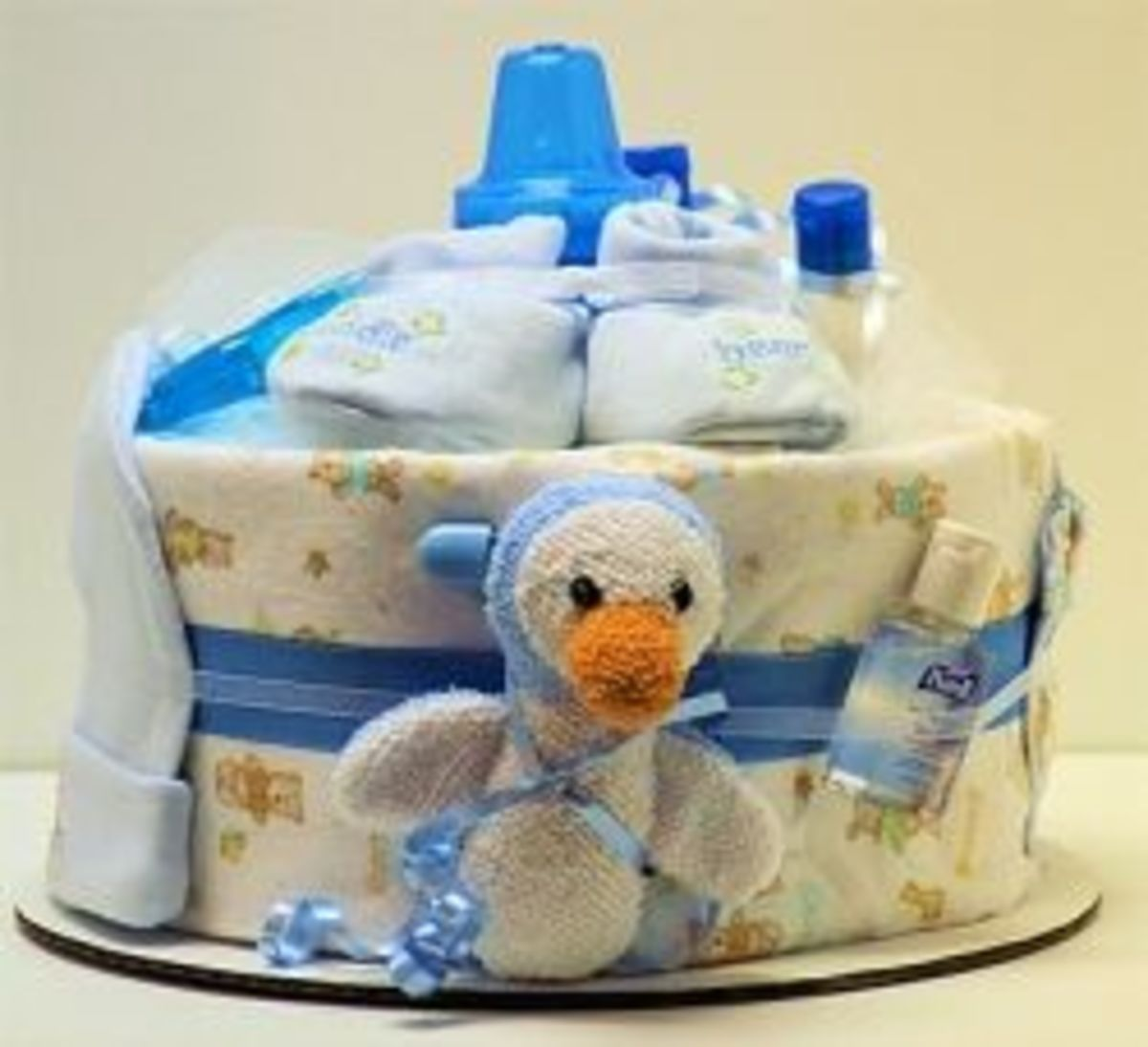 Baby Shower Diaper Cakes, in Pictures
