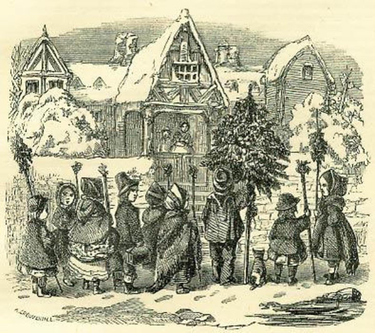 Traditional Carolers