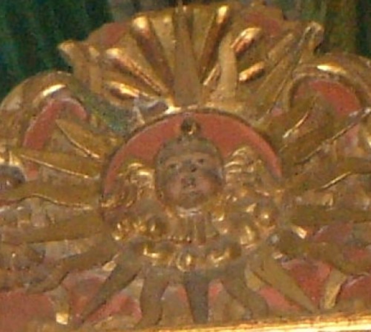 The Sun in a church in Puerto de la Cruz