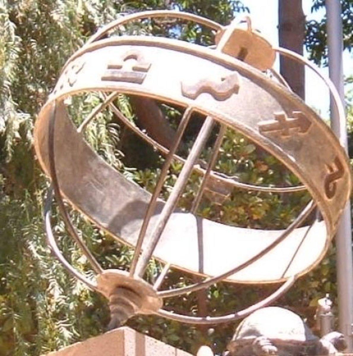 Signs of the zodiac on display in Parque García Sanabria
