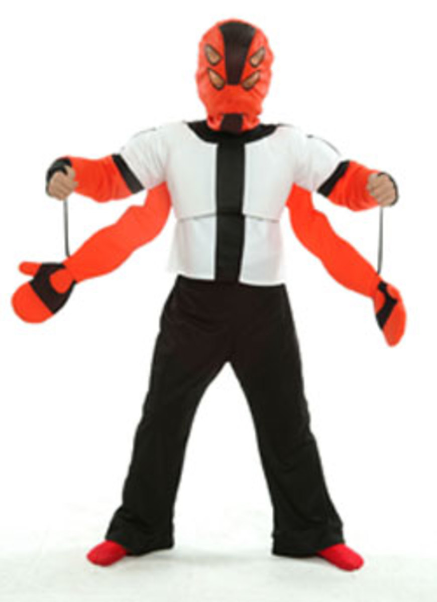 Four Arms the most popular Character in Ben10 and the best selling Costume this year