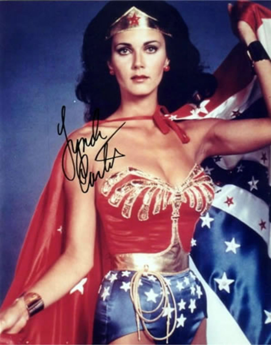 Sarah Palin, Wonder Woman and Lynda (Linda) Carter - Will the Alaskan Ice Queen Spin into the Presidency in 2012?