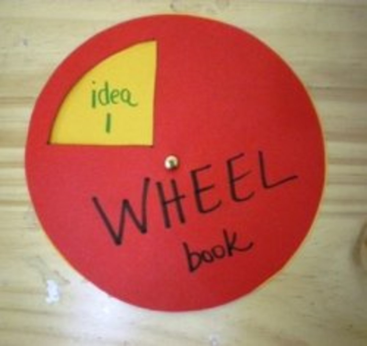 How to Make a Wheel Book