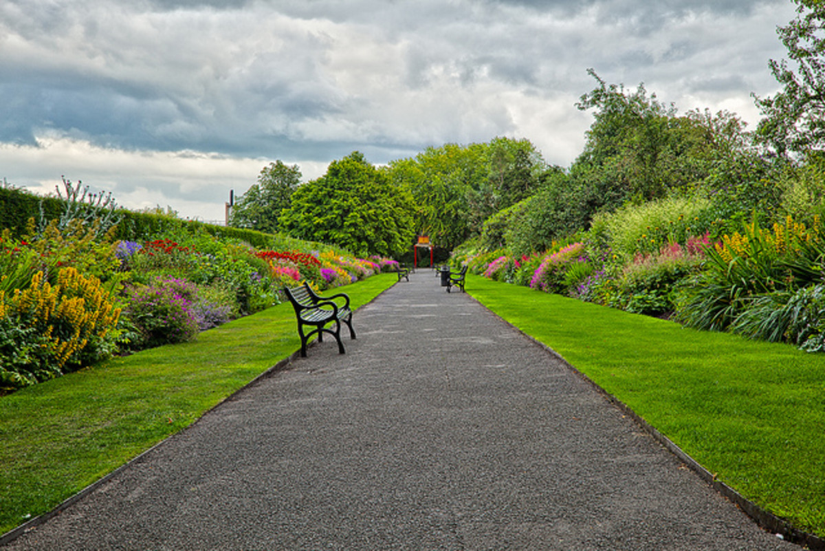 Belfast Botanical Gardens in Northern Ireland