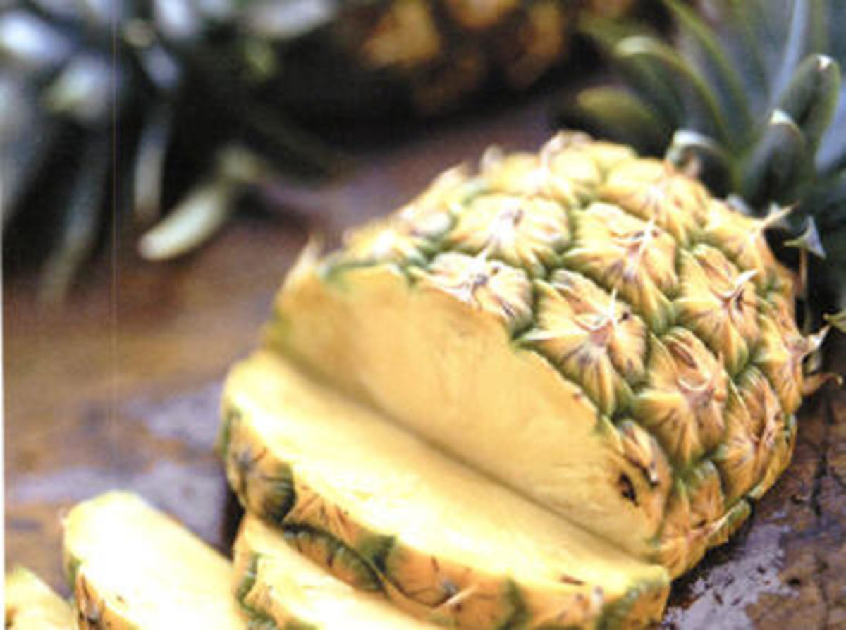 Pineapple is delicious and good for you, but I can't imagine not eating anything else, even for a short period of time.