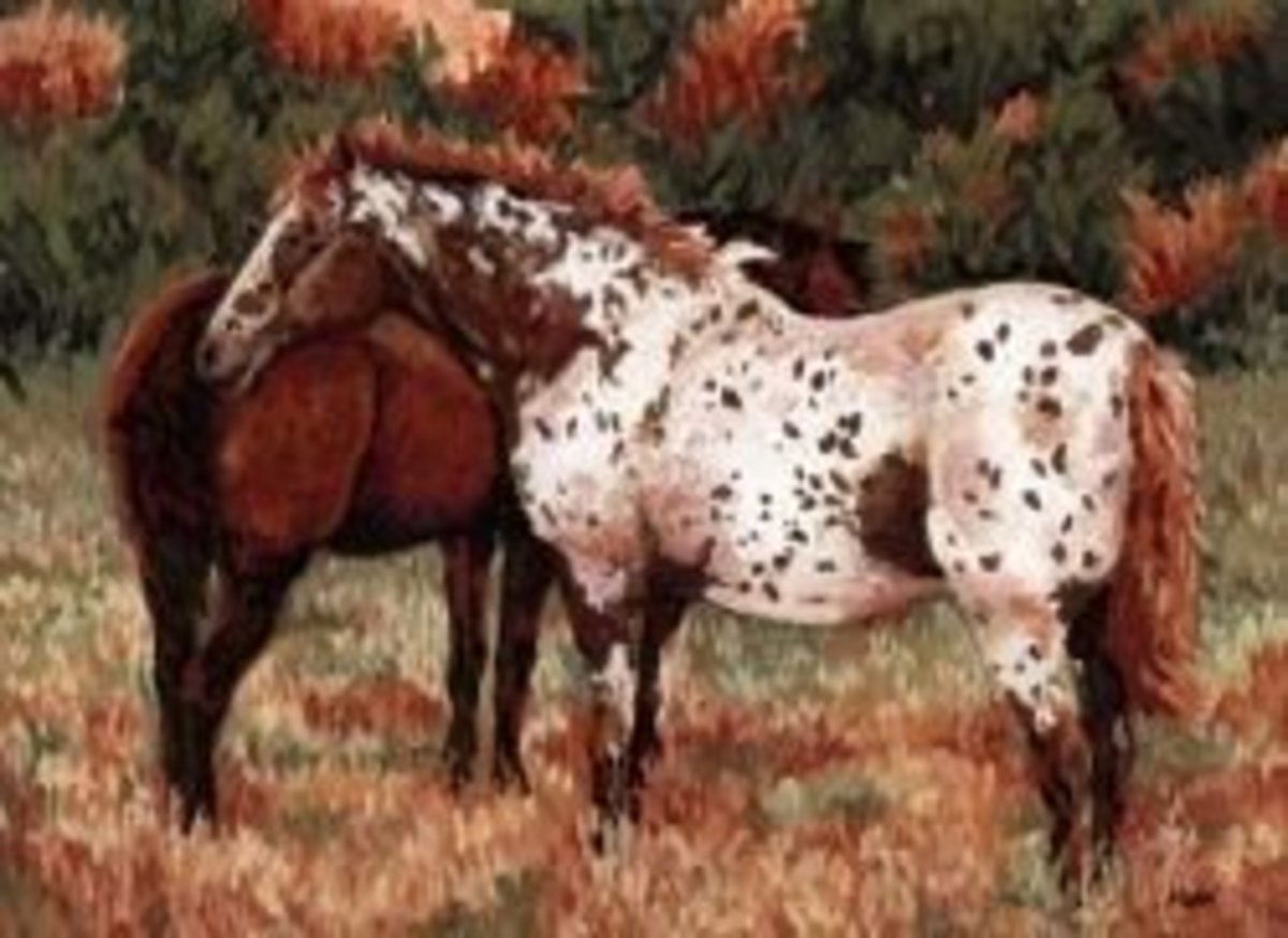 Original Oil PAstel painting by Mona Majorowicz