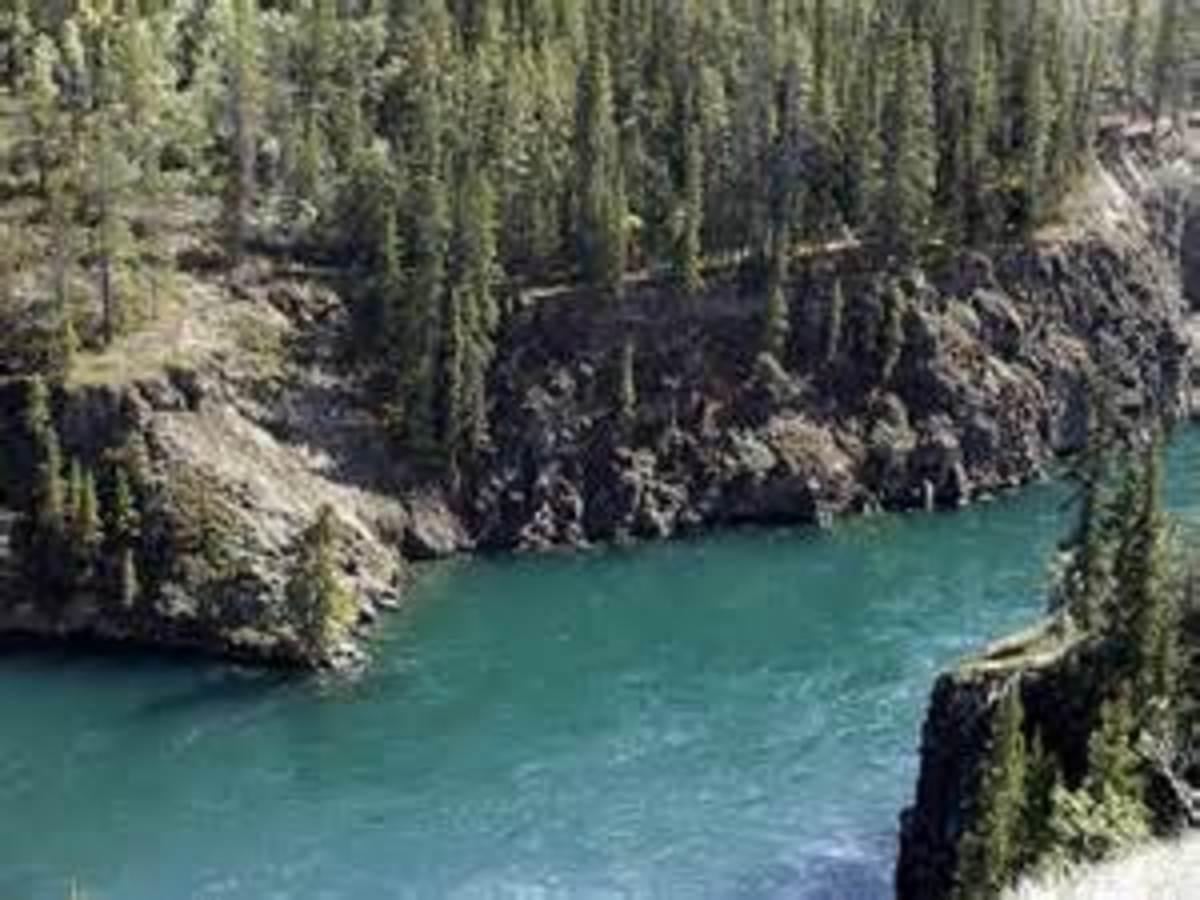 Yukon River in Alasaka