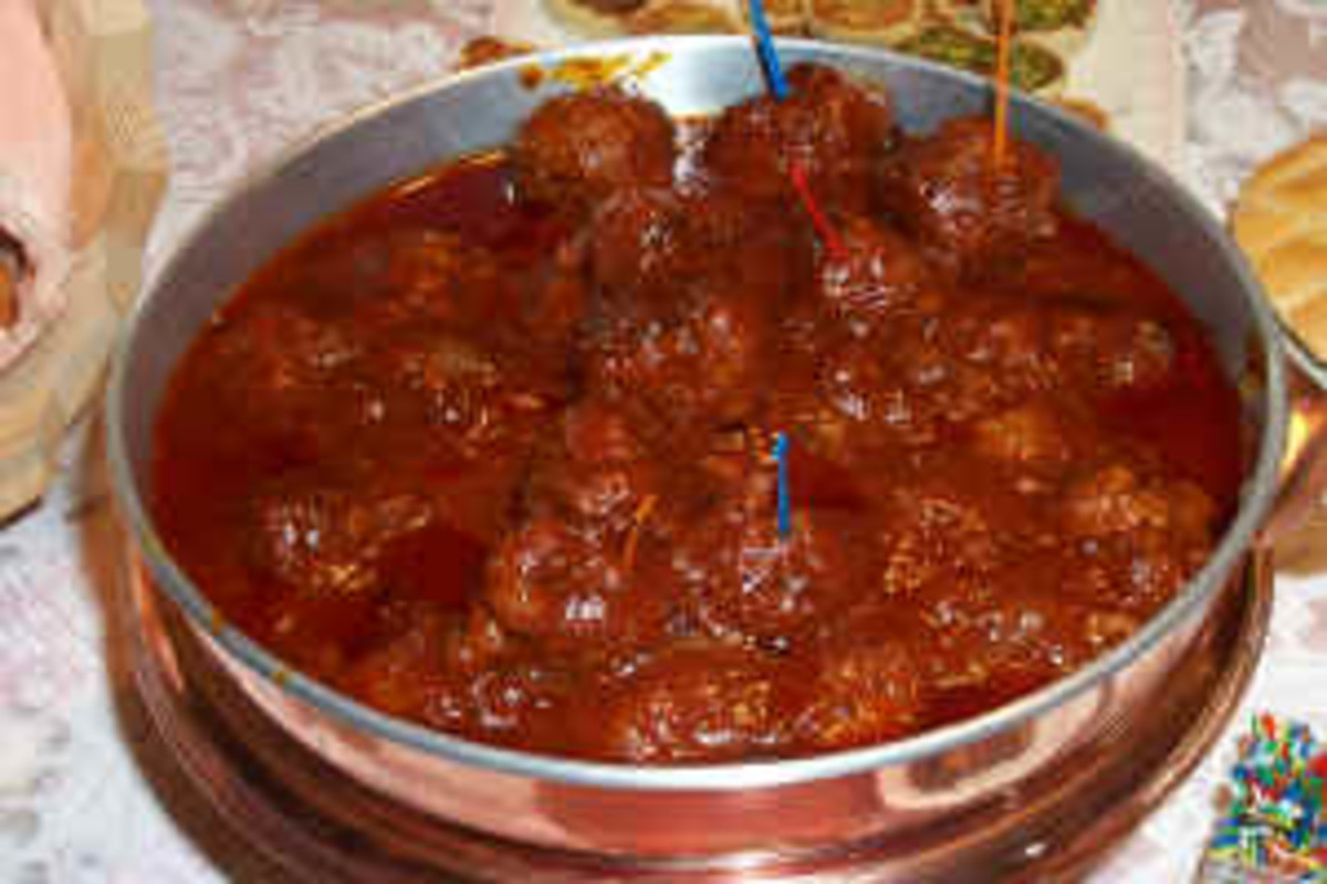 BBQ Meatballs could also be a delightful delicious appetizer.