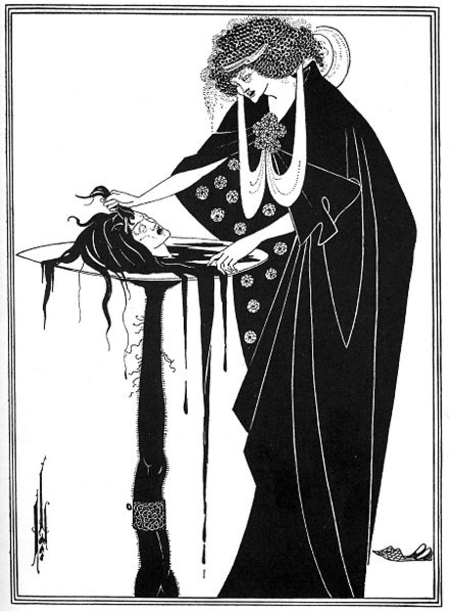 Aubrey Beardsley, Famous for his erotic pen and ink drawings, TB took this gifted aesthetic artist at only 25