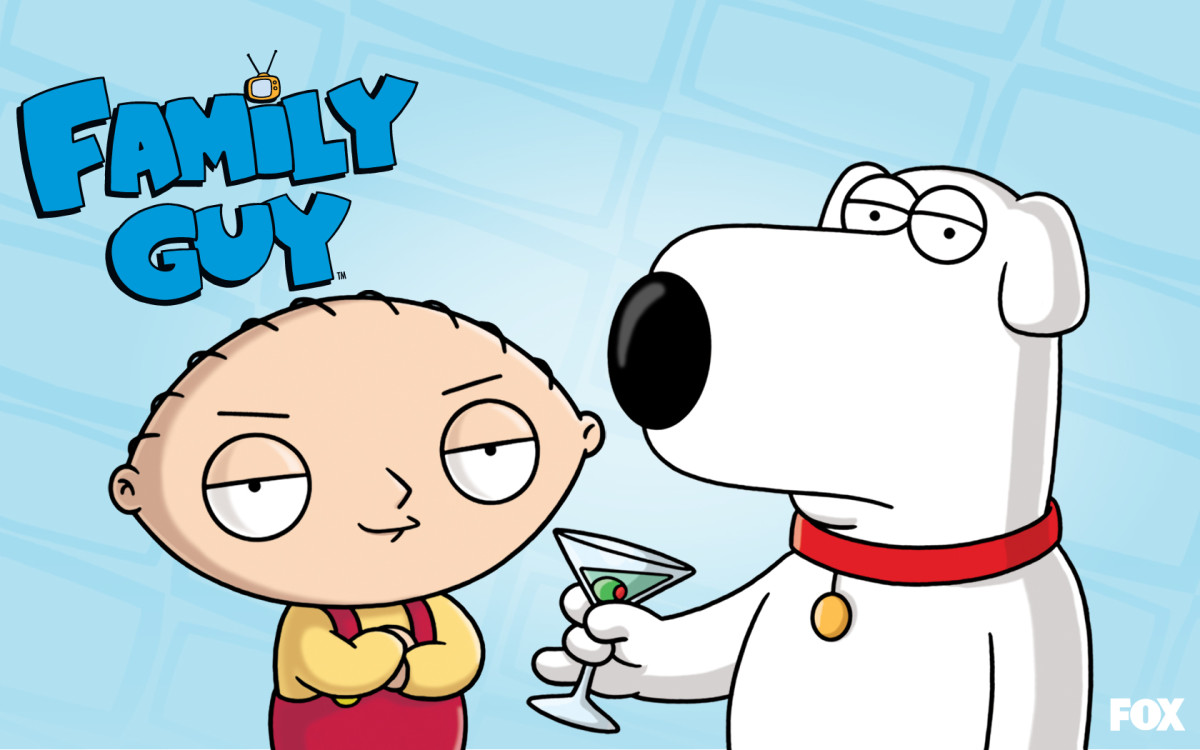 How to Draw Stewie and Brian from Family Guy