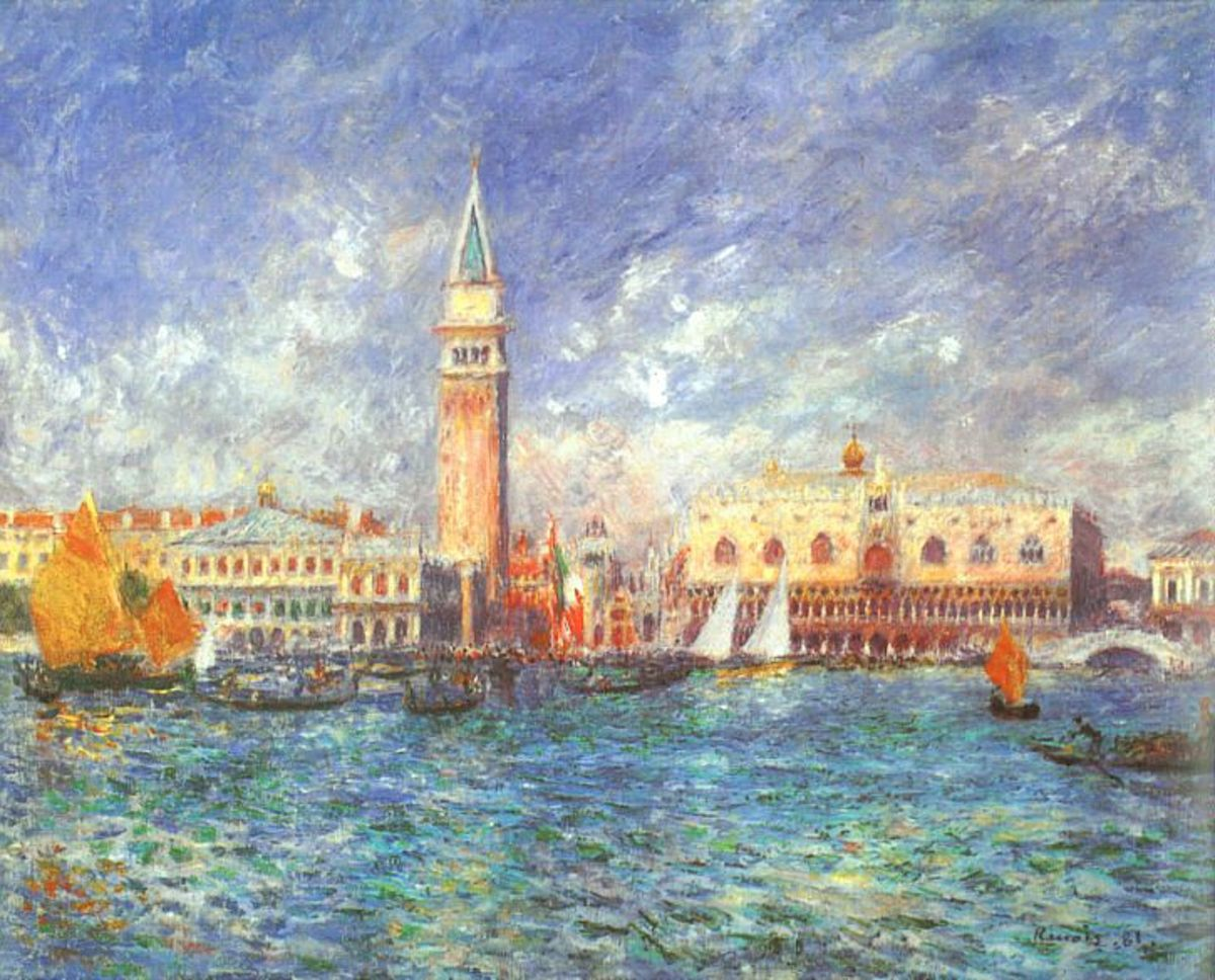The Doge's Palace by Pierre Auguste Renoir, 1887
