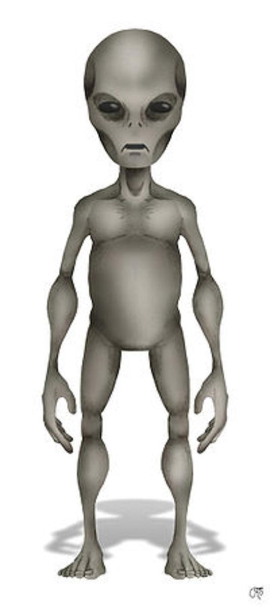 Image of a Grey alien
