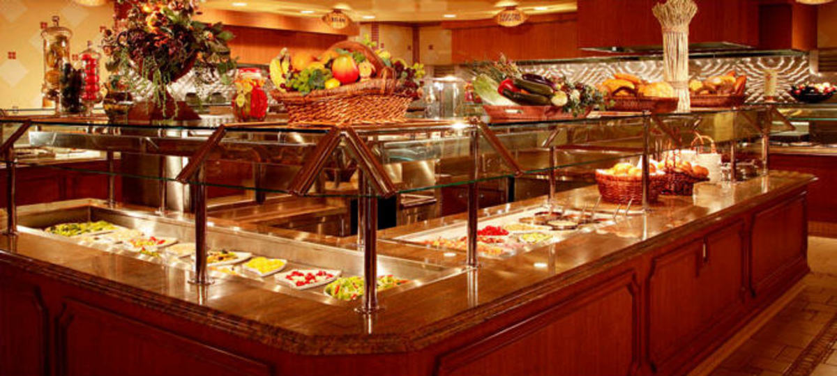 seafood buffet pic