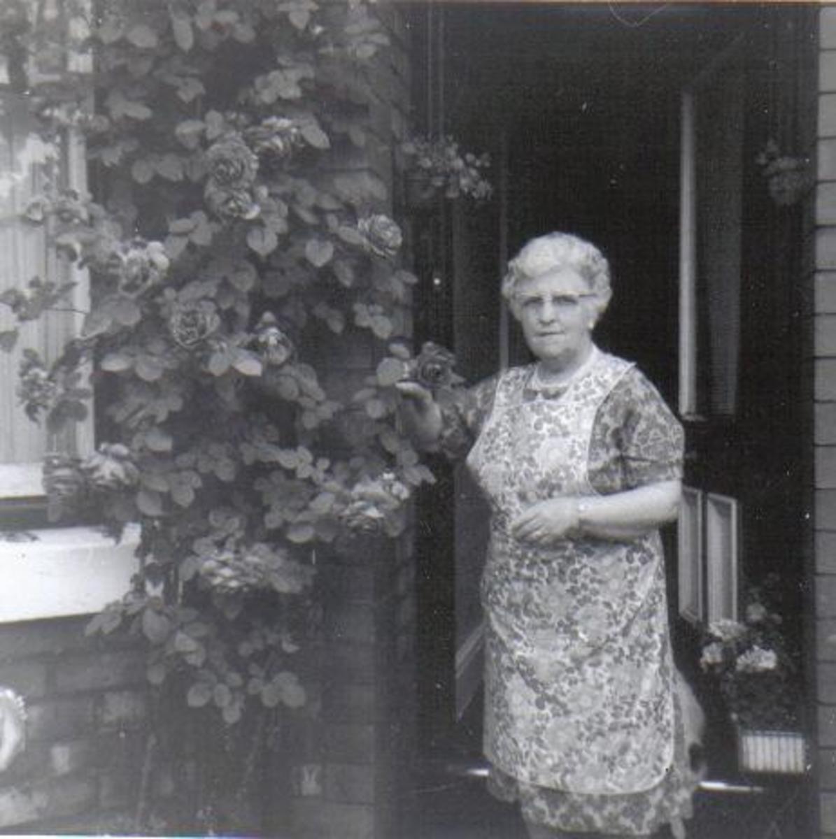 Elsie Bray (nee Adshead); c.1970.  Photo: Eric Bray.