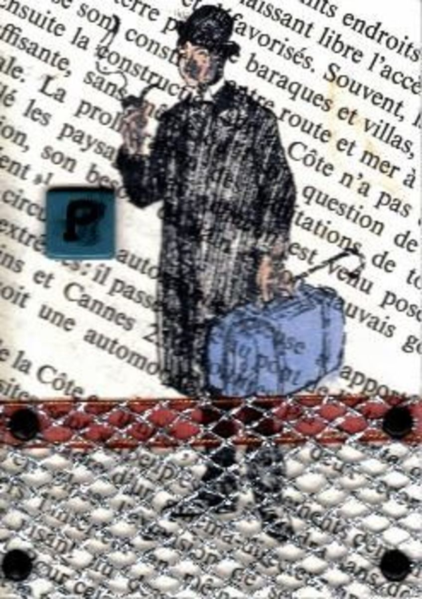use of printed matter for atc background