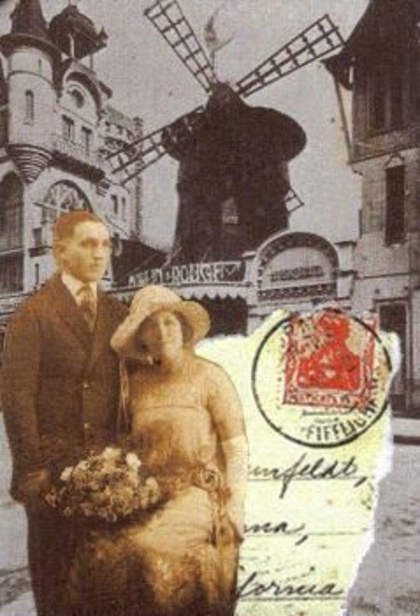 paris atc couple in love