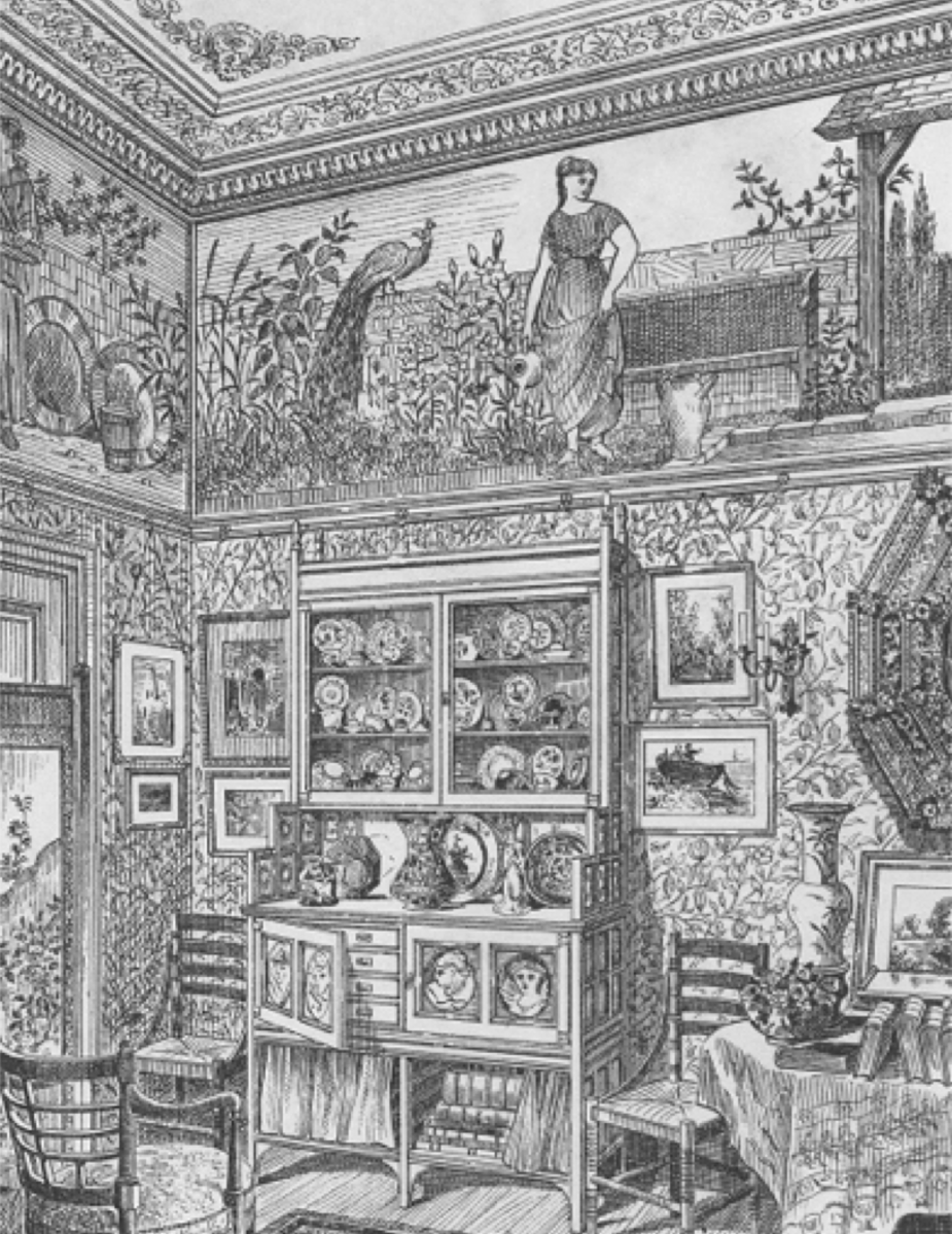 A Victorian room with its plethora of patterns