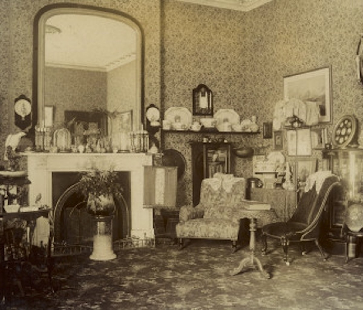 Victorian Sitting Room.