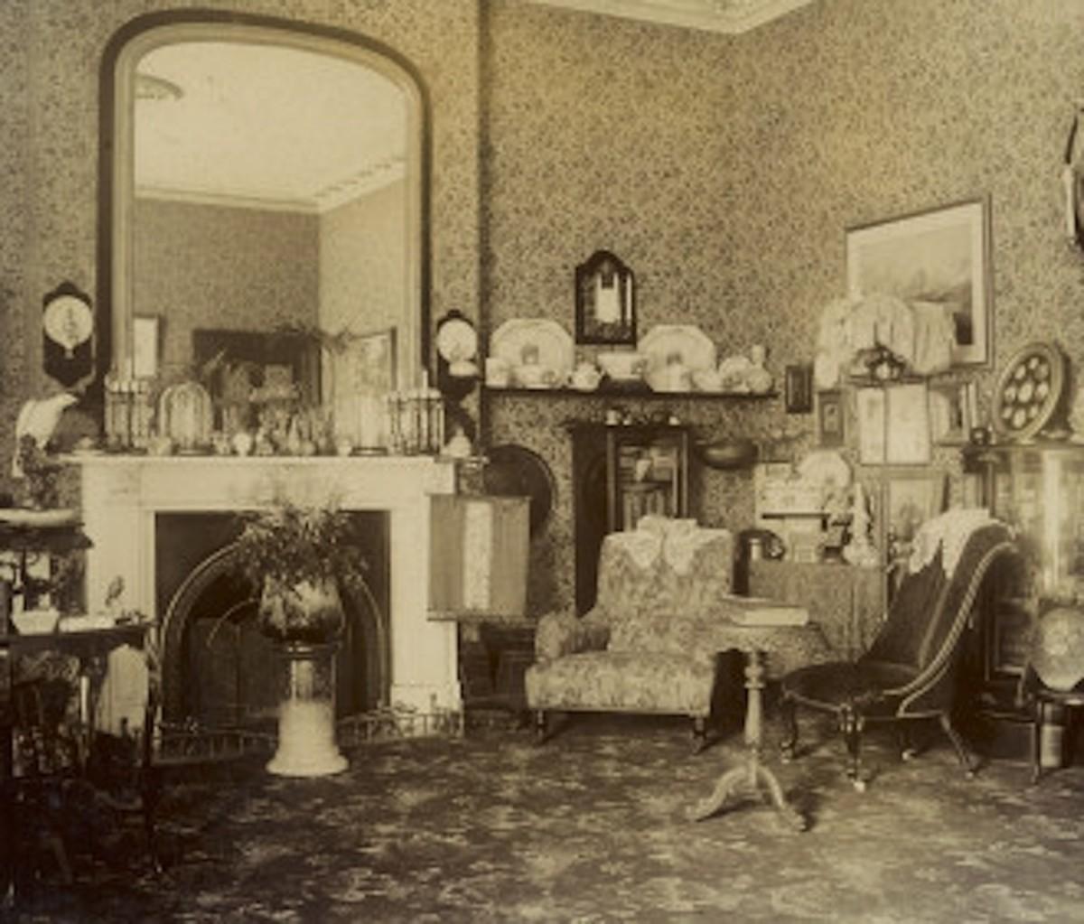 Victorian Sitting Room.