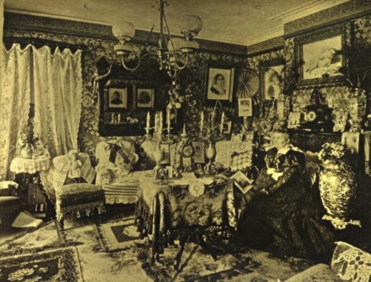 Formal Victorian Parlour.
