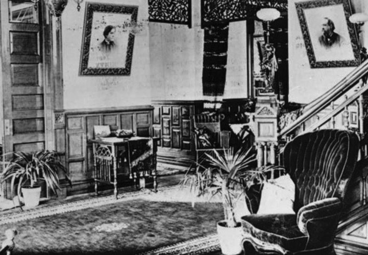 Victorian Foyer.