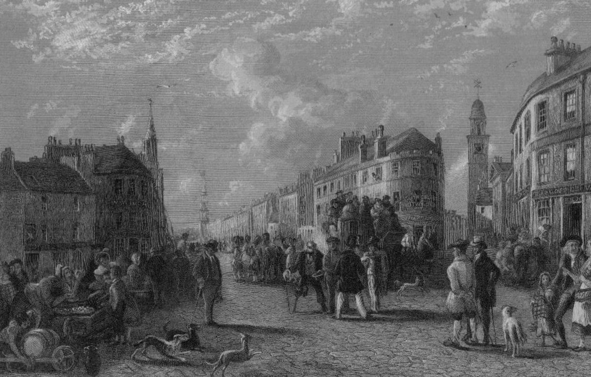 Kilmarnock Cross 1849