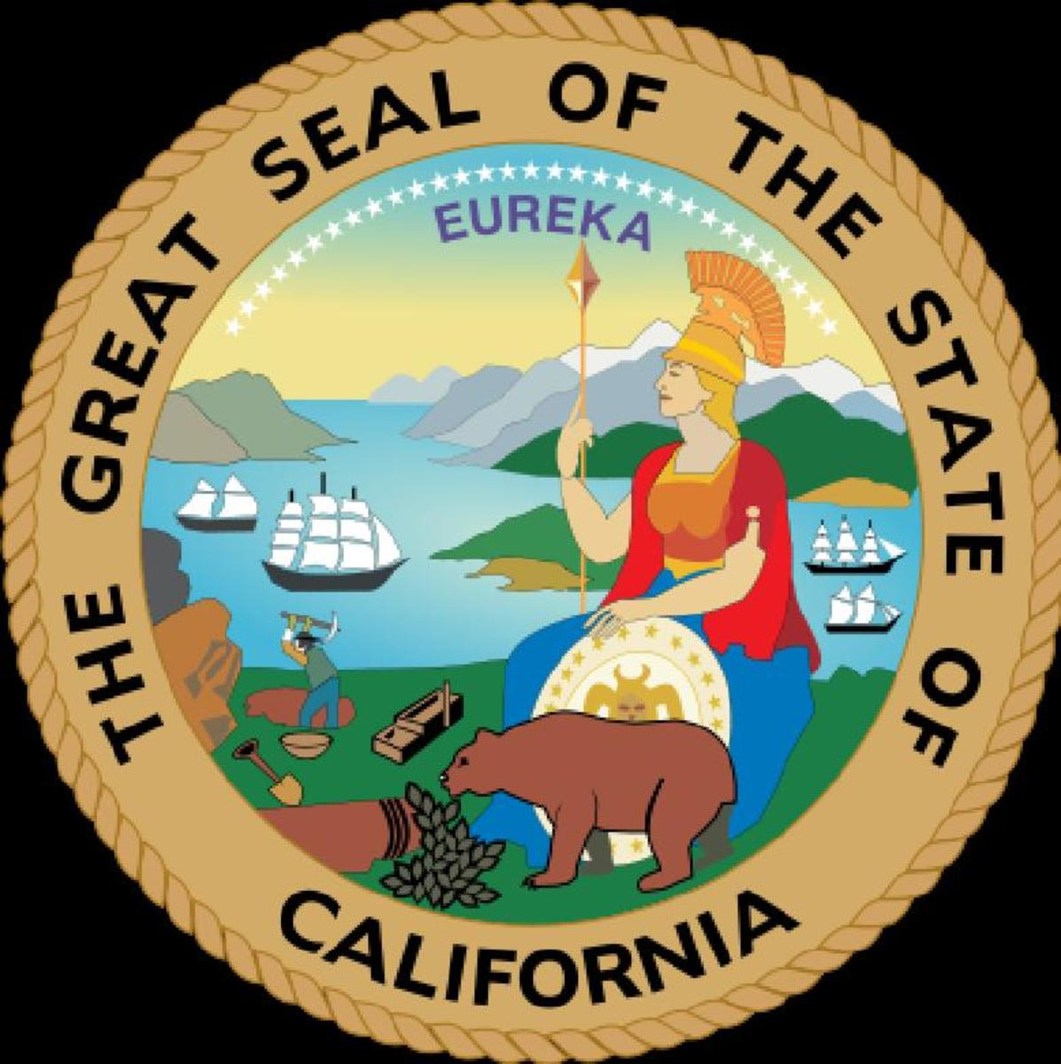 The GREAT-SEAL of CALIFORNIA